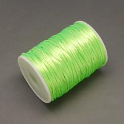 Bobina cola de raton 2 mm  Verde claro  fosforescente (80 metros)