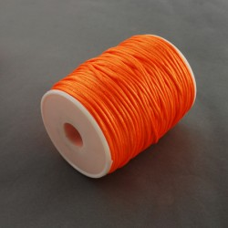 Bobina cola de raton 2 mm  Naranja Fosforescente (80 metros)