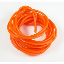 Cordón Caucho Naranja Fluor 4 mm