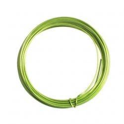 Alambre aluminio 1,5mm verde lima