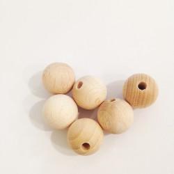 Bola madera sin tratar 16mm