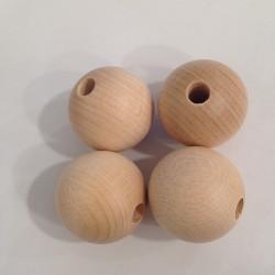 Bola madera sin tratar 35mm