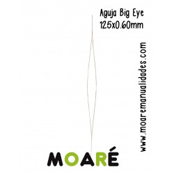 Aguja enfilar Big Eye 125mm