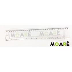 Regla 30cm Personalizable ABECEDARIO  + picado