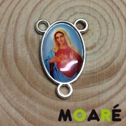 Ave maria medalla Rosario imagen Corazón