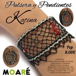 Pulsera y pendientes KATINA
