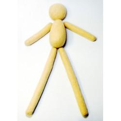 Kit muñeca larga fieltro modelable