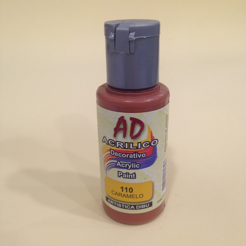 110 caramelo pintura acr lica ad moar manualidades - Pintura acrilica manualidades ...