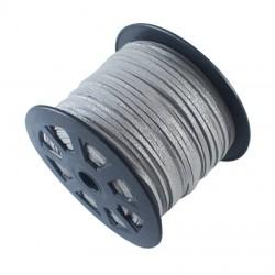 Cordón Antelina plano Plata 3mm
