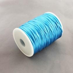 Bobina cola de raton 2 mm Azul Claro (80 metros)