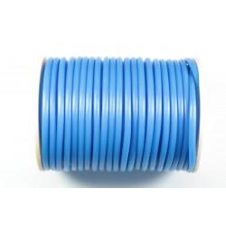 Cordón Caucho Azul Claro 3 mm