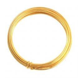 Amlambre aluminio 1mm dorado