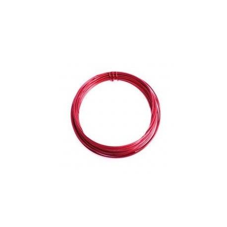 Alambre aluminio 1,5mm rojo