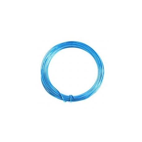 Alambre aluminio 1,5mm azul eléctrico