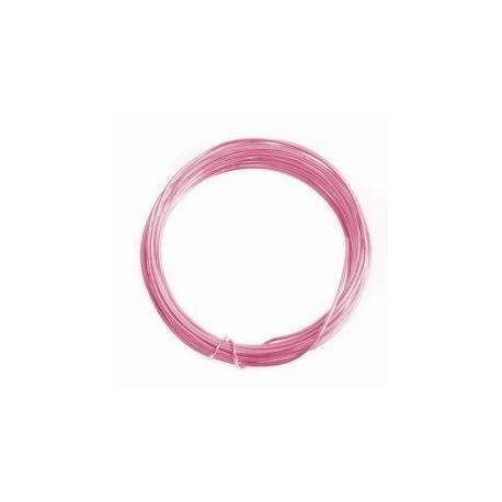 Alambre aluminio 1,5mm rosa
