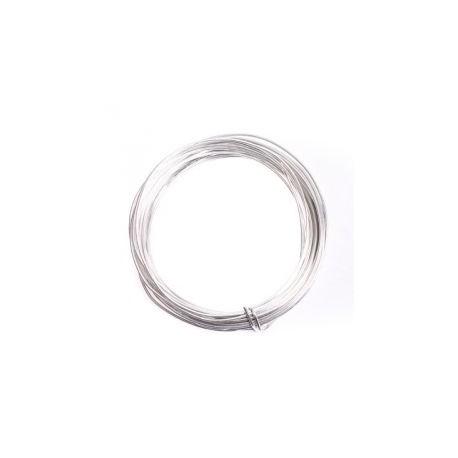 360 Alambre Aluminio 2mm Plata