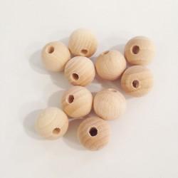 Bola madera sin tratar 20mm