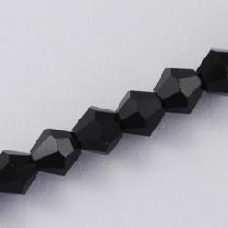 Cristal Checo Negro 3mm 150 unidades