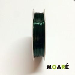 Alambre de cobre Verde Botella 0.3mm 25m