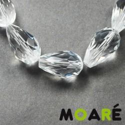 Lagrima Cristal tallado transparente