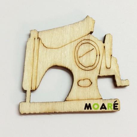 Forma madera Maquina coser grande