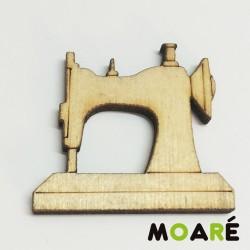 Forma madera Maquina coser Lisa 22x25mm