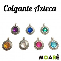 Colgante AZTECA COLORES