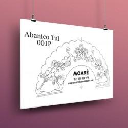 Diseño Abanico001P + tul