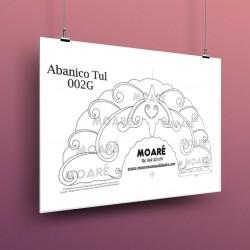 Diseño Abanico002G + tul