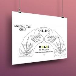 Diseño Abanico004P + tul