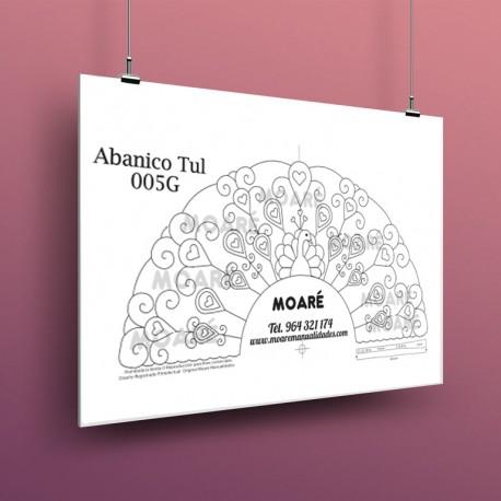 Diseño Abanico003G + tul