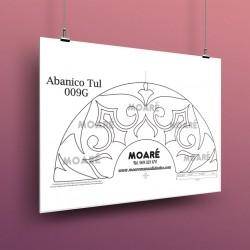 Diseño Abanico009G + tul