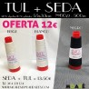 KIT SEDA + TUL BORDADO