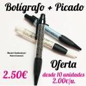 Bolígrafo Personalizable + picado
