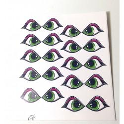 Ojos Adhesivos Baby Medianos