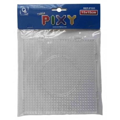 PLACA TABLA PIXEL ART 15X15CM