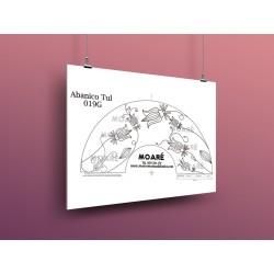 Diseño Abanico019G + tul