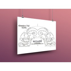 Diseño Abanico020G + tul