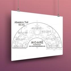Diseño Abanico011G + tul
