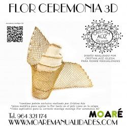 Kit FLOR 3D + picado