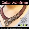 Kit  COLLAR ASIMETRICO + patrón