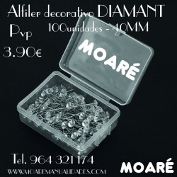 Alfiler DIAMANT 40mm