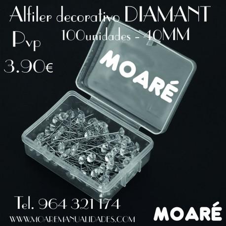 Alfiler DIAMANT 40mm