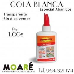COLA BLANCA ABANICOS 60GR