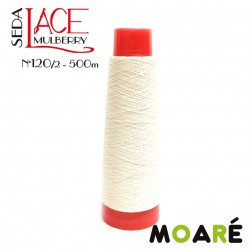 Seda LACE Mulberry BLANCO 120/2