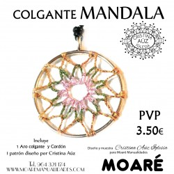 Kit MANDALA colgante + picado
