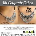 El Kit Colgante CUBOS