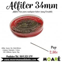 Alfiler Acero 34mm