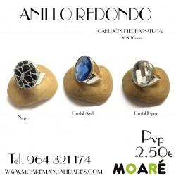 Anillo REDONDO 20mm + picado