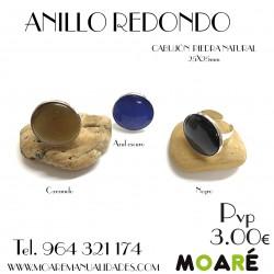 Anillo REDONDO 25mm + picado